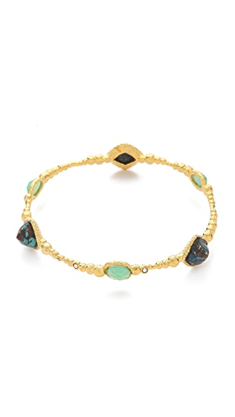 Alexis Bittar Cordova Chrysocolla Bangle