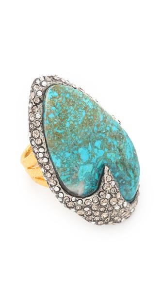 Alexis Bittar Cordova Chrysocolla Ring