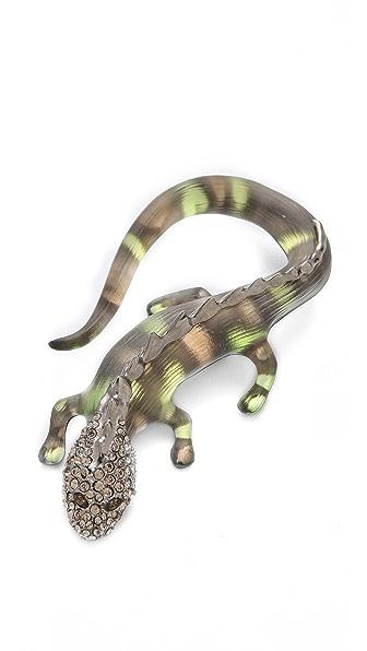 Alexis Bittar Durban Salamander Pin