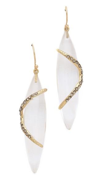 Alexis Bittar Mod Winding Drop Earrings