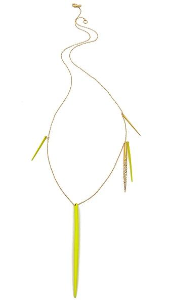 Alexis Bittar Crystal Spear Necklace