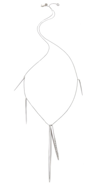 Alexis Bittar Long Spear Necklace