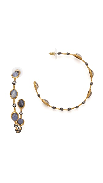 Alexis Bittar Lace Hoop Earrings
