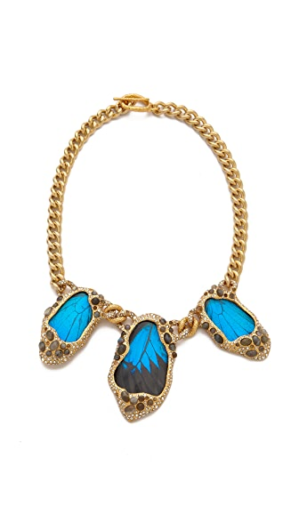 Alexis Bittar Large Butterfly Necklace