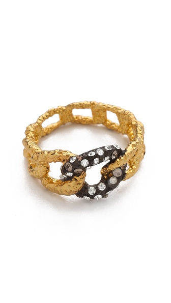 Alexis Bittar Chain Link Ring