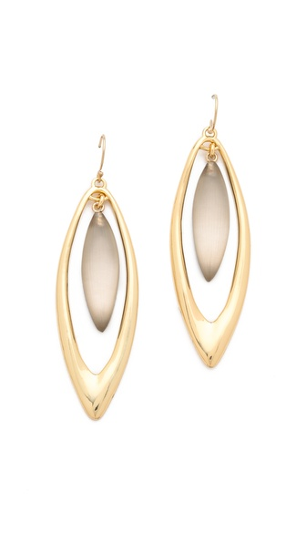 Alexis Bittar Neo Bohemian Marquis Drop Earrings