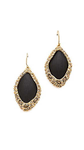Alexis Bittar Neo Bohemian Pave Wire Earrings
