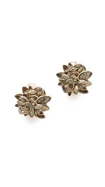 Alexis Bittar Neo Bohemian Marquis Clip Earrings