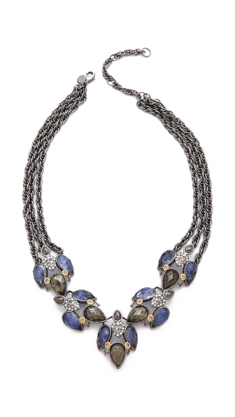 Alexis Bittar Small Cascading Sodalite Necklace