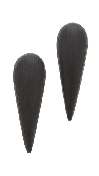 Alexis Bittar Lucite Spike Post Earrings