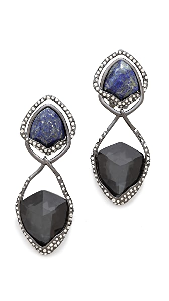 Alexis Bittar Orbiting Suspended Clip On Earrings