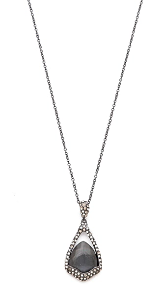 Alexis Bittar Suspended Pendant Necklace