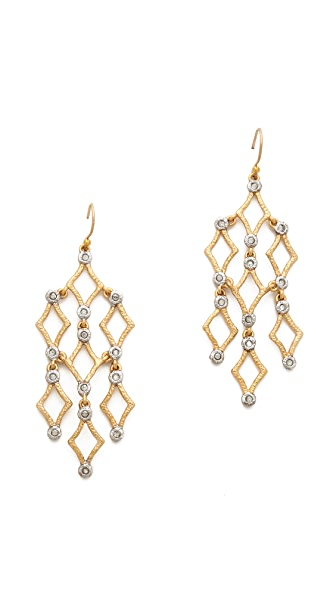 Alexis Bittar Mosaic Chandelier Earrings