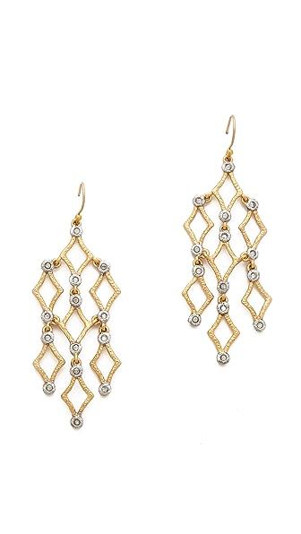 Alexis Bittar Mosaic Chandelier Earrings