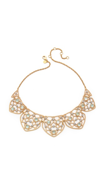Alexis Bittar Mosaic Lace Bib Necklace