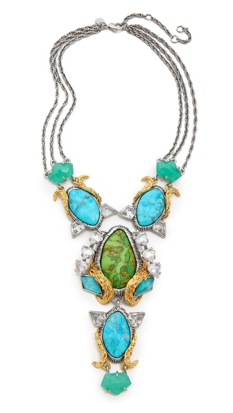 Alexis Bittar Olmeca Bib Necklace