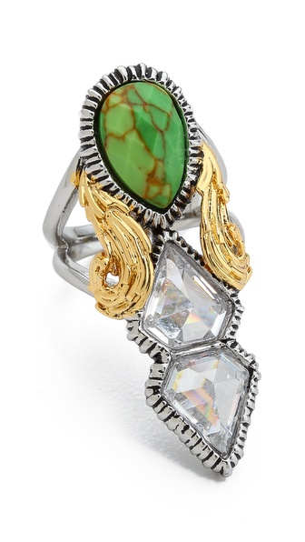 Alexis Bittar Elongated Olmeca Ring