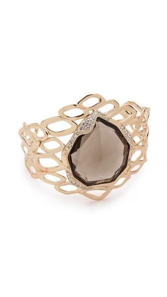 Alexis Bittar Aiguille Cutout Cuff Bracelet