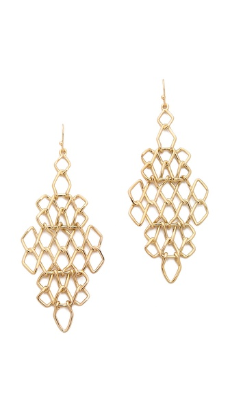 Alexis Bittar Barbed Articulating Earrings