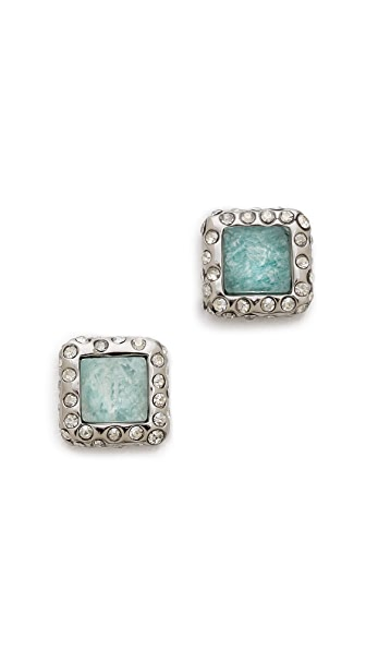 Alexis Bittar Geometric Stud Earrings