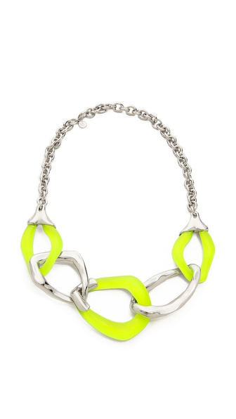 Alexis Bittar Liquid Metal 5 Link Necklace