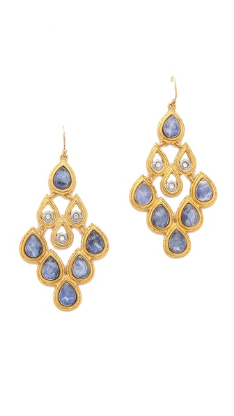 Alexis Bittar Scalloped Chandelier Earrings