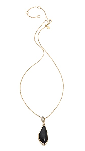 Alexis Bittar Infinity Drop Pendant Necklace