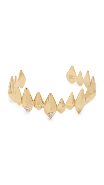 Alexis Bittar Faceted Spear Pave Bracelet