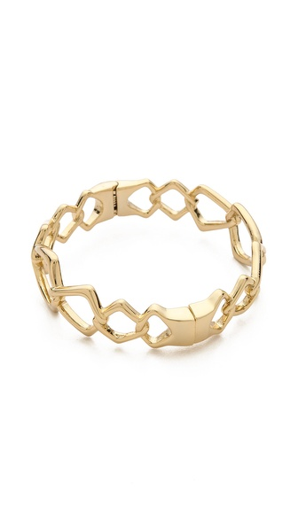 Alexis Bittar Fancy Linked Hinge Bracelet