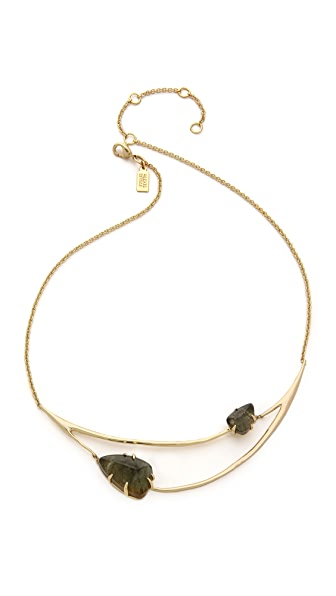 Alexis Bittar Draped Bib Necklace