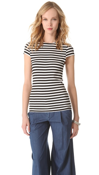 AIR by alice + olivia Short Sleeve Top