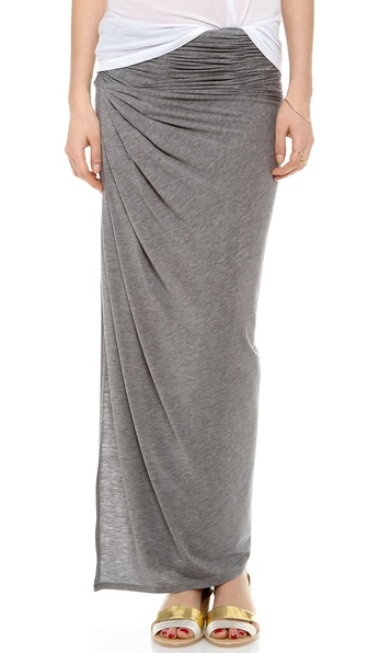 Air By Alice + Olivia Kay Covertible Ruched Skirt - Dark Grey at Shopbop / East Dane
