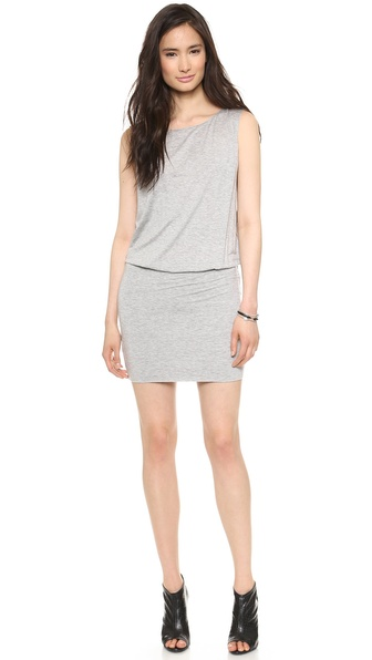 Air By Alice + Olivia Keyhole Back Dress - Light Grey at Shopbop / East Dane