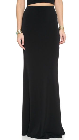 Air By Alice + Olivia High Waist Maxi Skirt - Black at Shopbop / East Dane