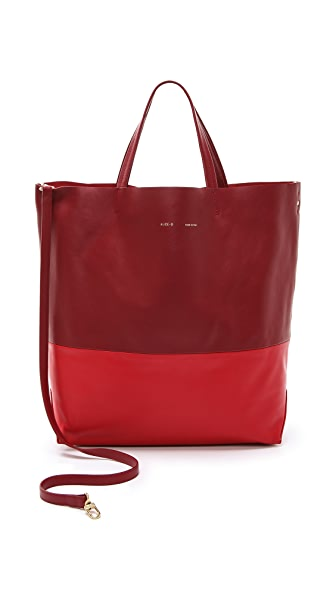 Alice.D Leather Tote