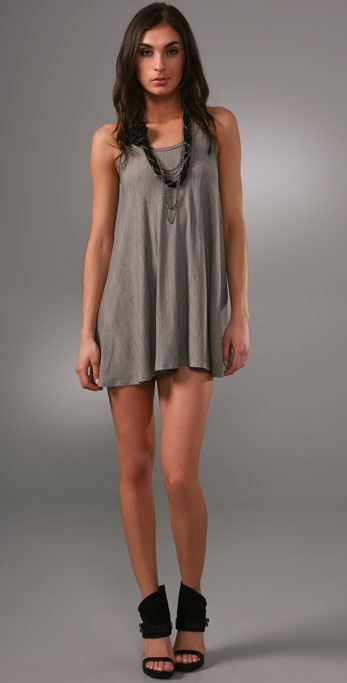 alice + olivia Parker Tank Dress with Necklace