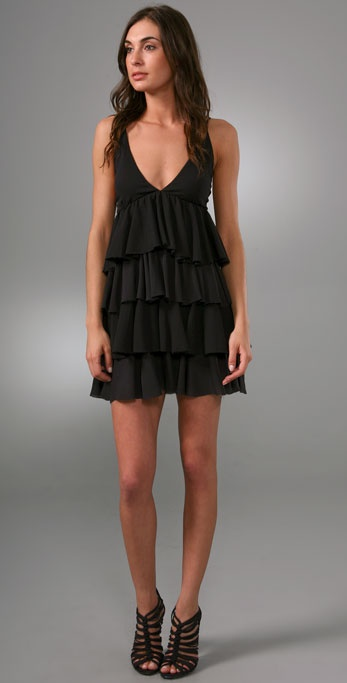 alice + olivia Laura Layered Dress