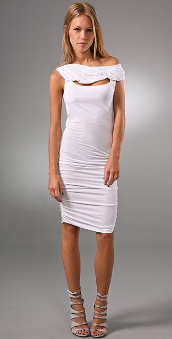 alice + olivia Sheila Cutout Dress
