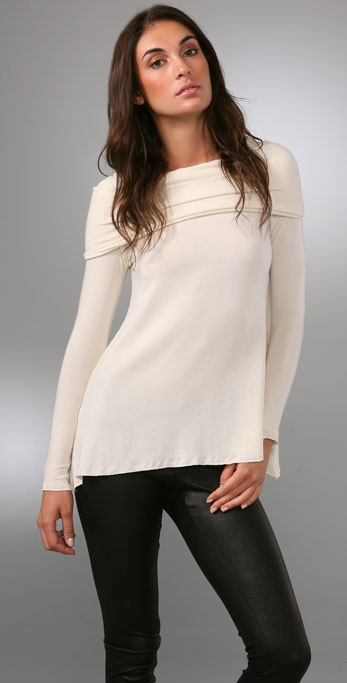 alice + olivia Off the Shoulder Sweater