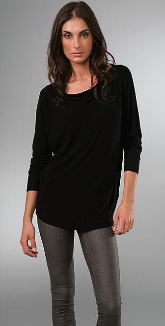alice + olivia Slouchy Long Sleeve Shirt