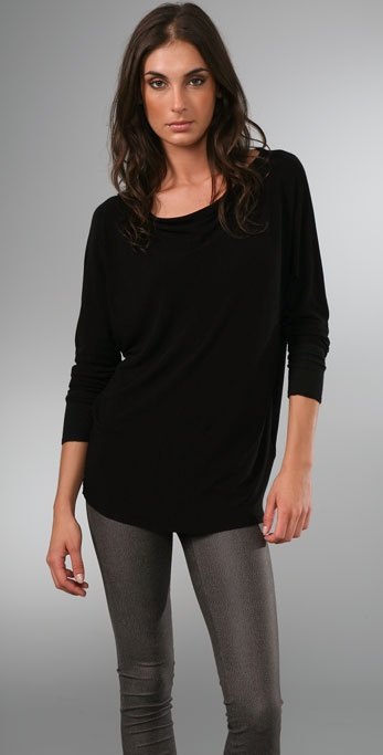 alice + olivia Slouchy Long Sleeve Shirt