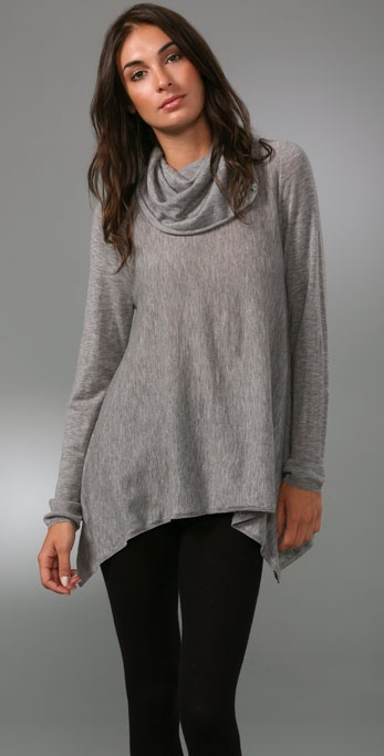 alice + olivia Drape Cowl Neck Sweater