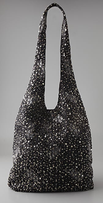 alice + olivia Sequin Hobo Bag