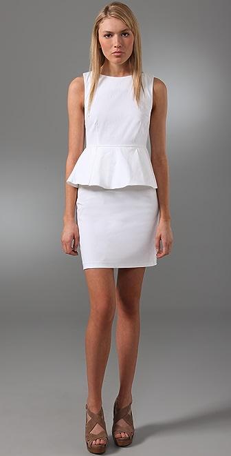 alice + olivia Joey Peplum Dress