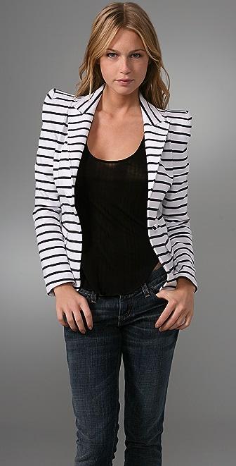 alice + olivia Sage Striped Blazer