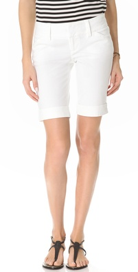 alice + olivia Cuffed Bermuda Shorts