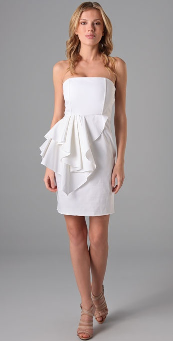 alice + olivia Reese Peplum Dress