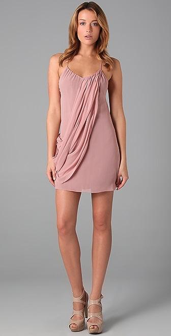 alice + olivia Drapey Panel Dress
