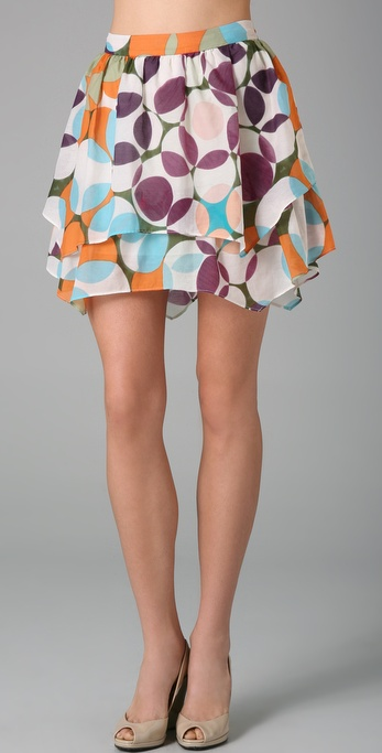 alice + olivia Layered Skirt