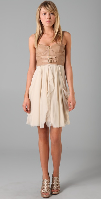 alice + olivia Jeanie Bustier Dress